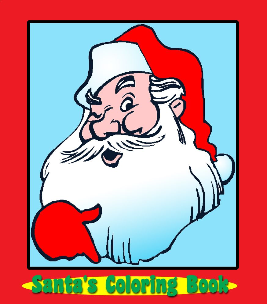 Santa Coloring Pdf With S Book PDF WeaveStream