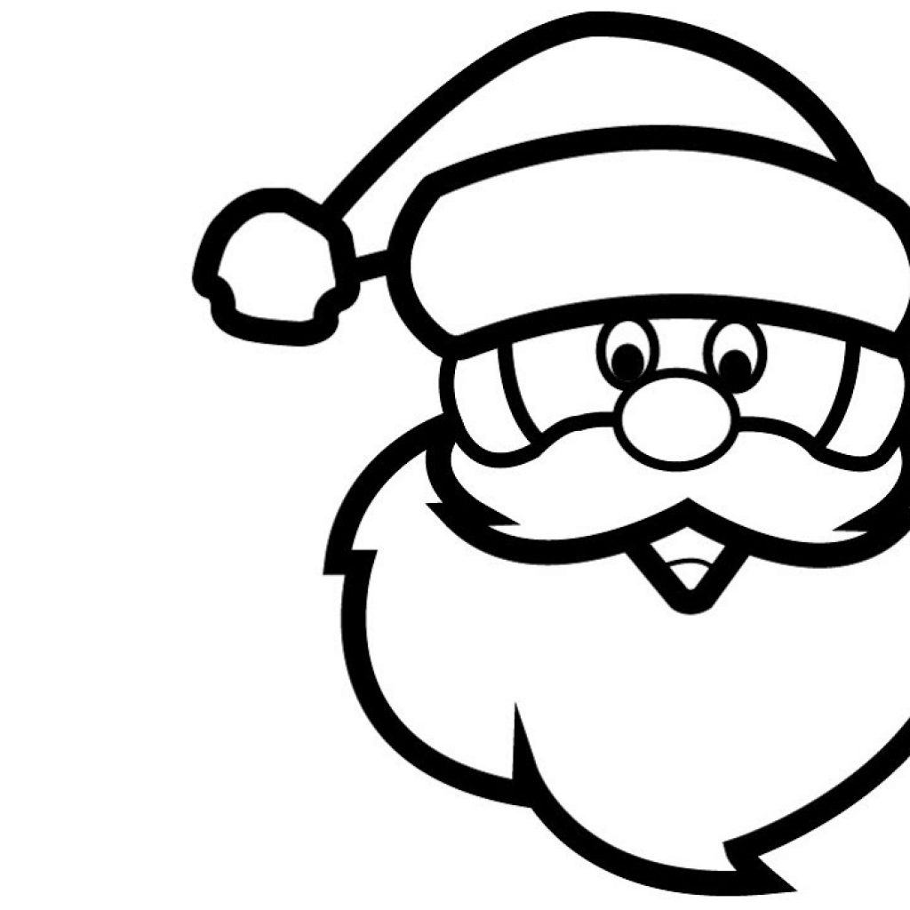 Santa Coloring Videos With How To Draw Claus Tree Pages For Kids