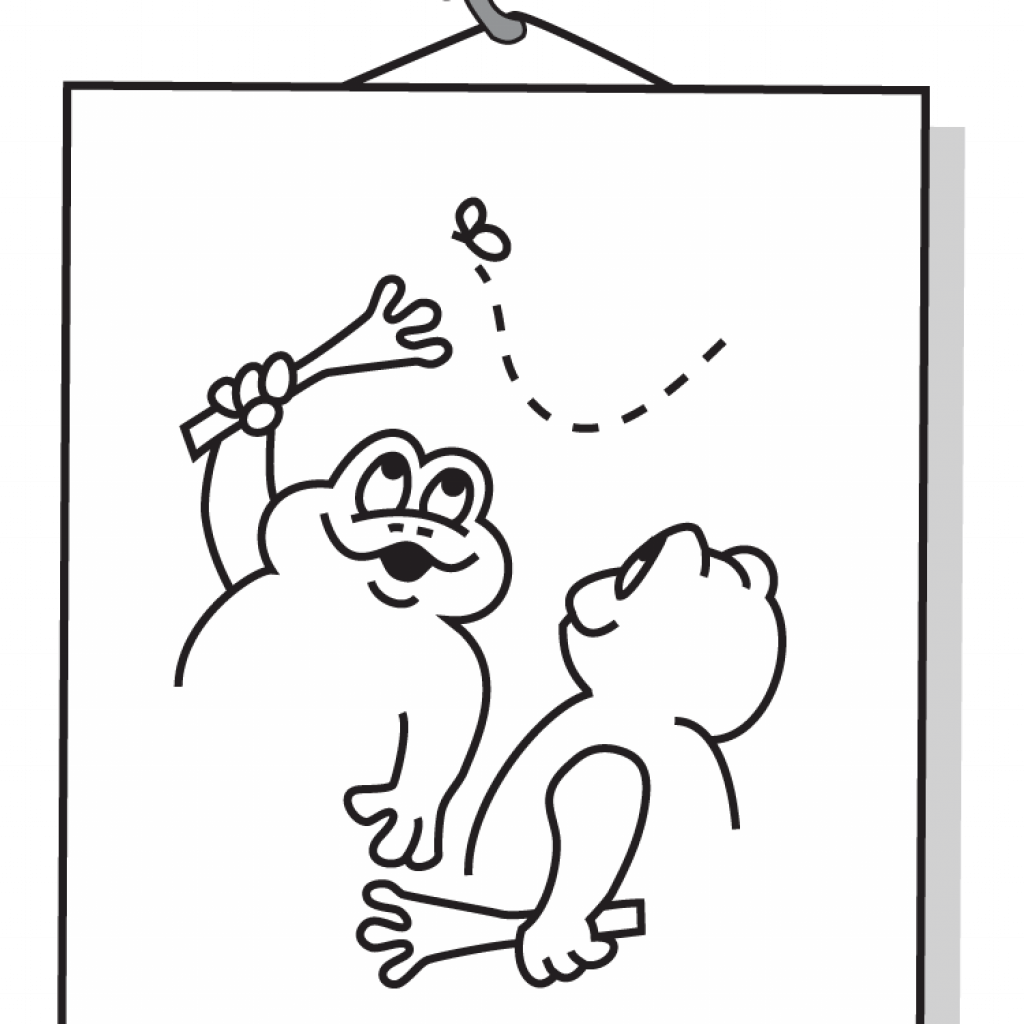 Santa Cruz Coloring Pages With Books UnFROGetables Positive Behavior Tools