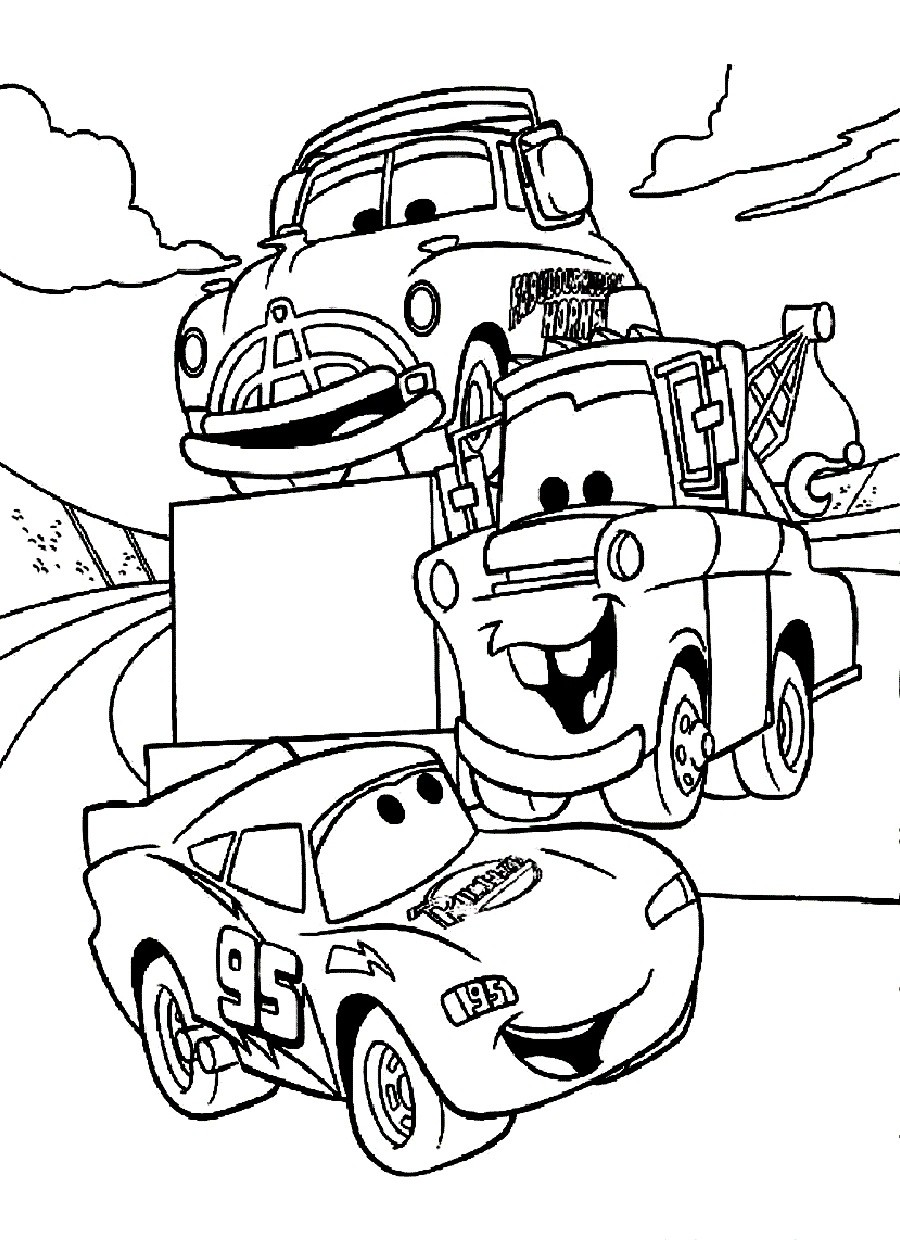 Santa Cruz Coloring Pages With Cars Color Useful Car Best Disney Bgcentrum For
