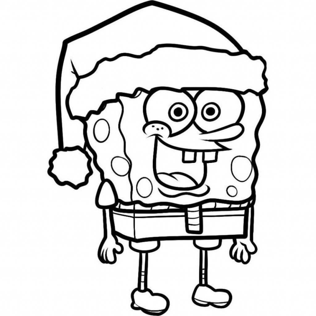 Santa Duck Coloring Page With Free Father Christmas Pictures To Colour Download Clip Art