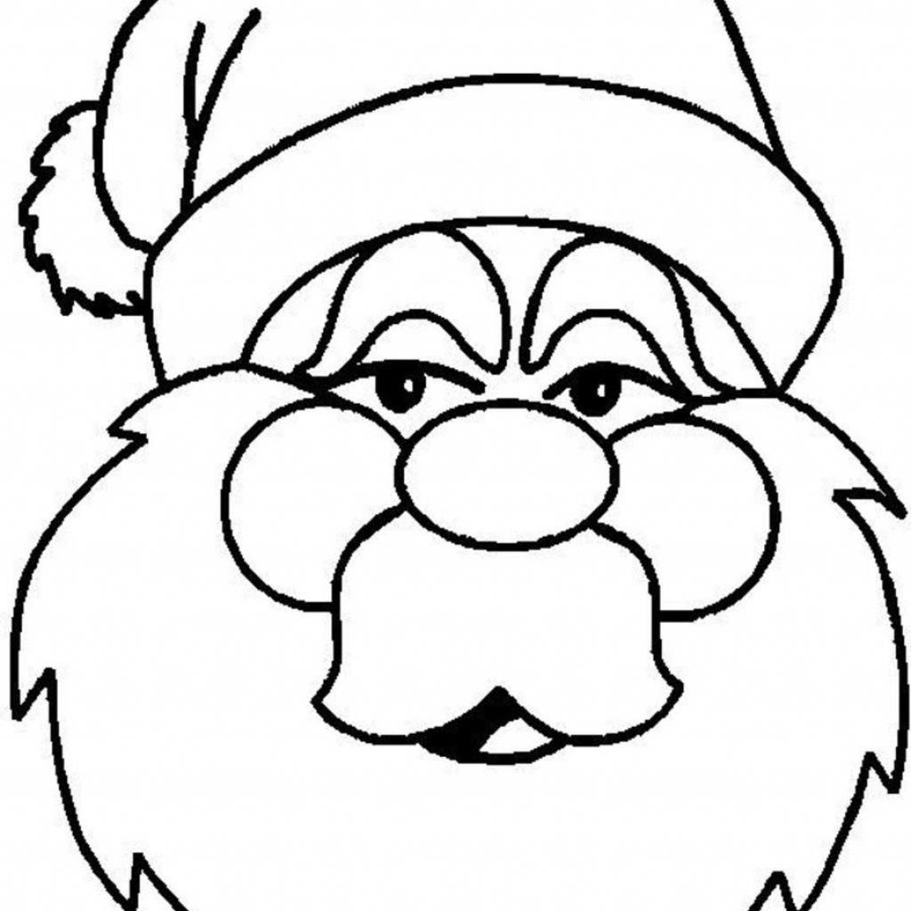 Santa Face Coloring Page Template With Pin By Wendie Morell On Royal Icing Pinterest Christmas