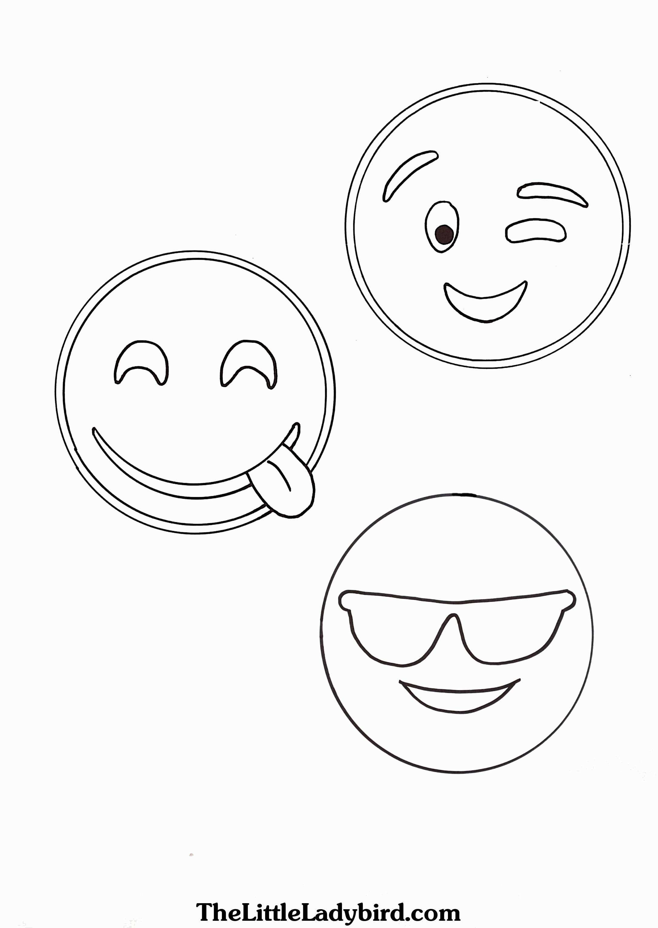 Santa Face Coloring Sheet With Page Luxury Emojis Pages Printable Free