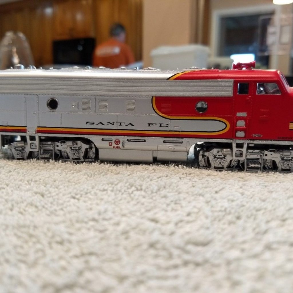 Santa Fe Train Coloring Pages With Athearn Model 42005 F7 A Diesel Engine Locomotive 310