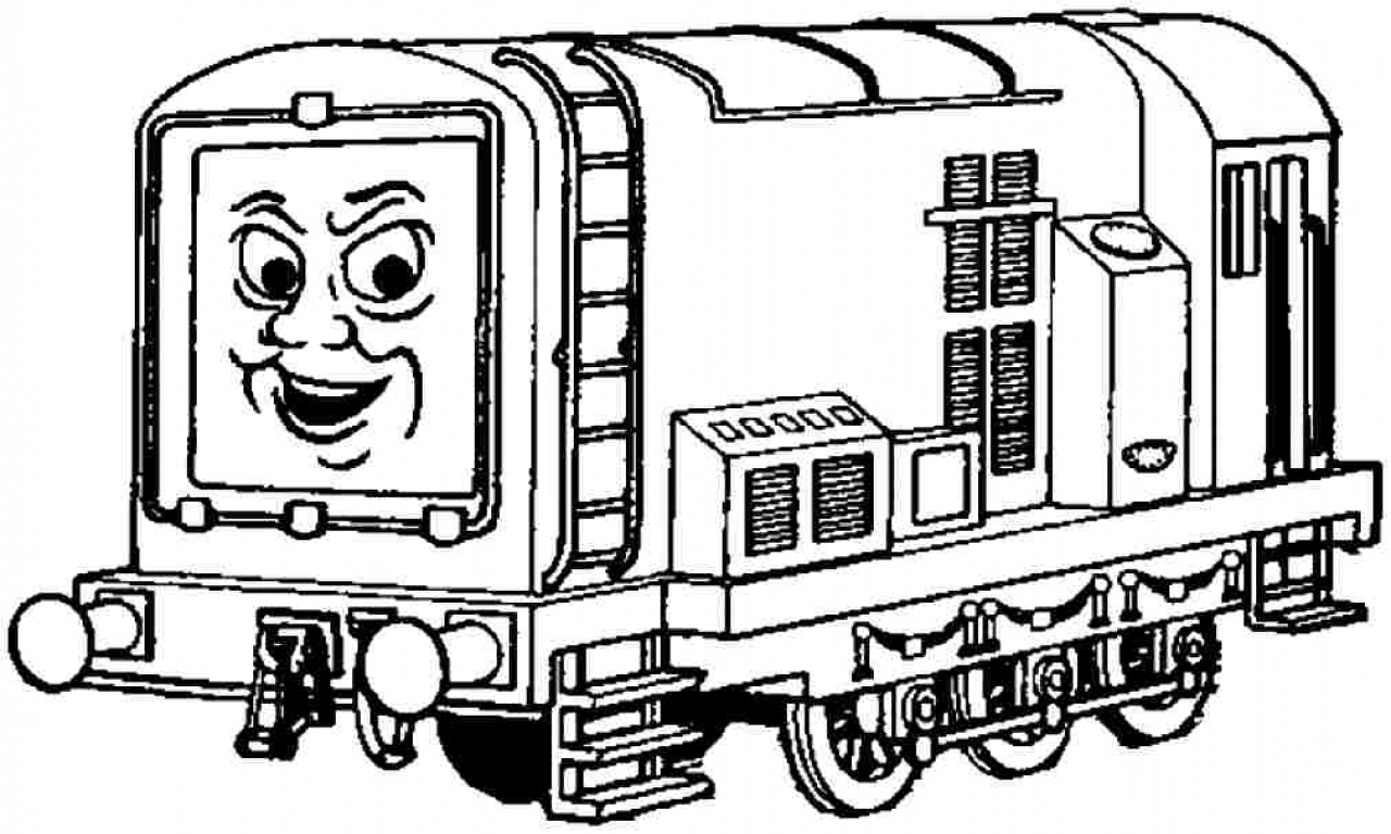 Santa Fe Train Coloring Pages With Freight
