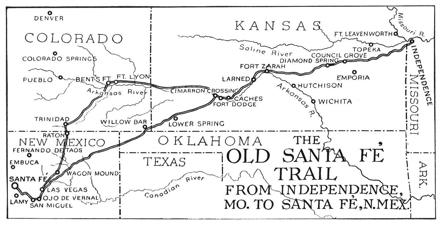 Santa Fe Train Coloring Pages With The Trail Kansas State History