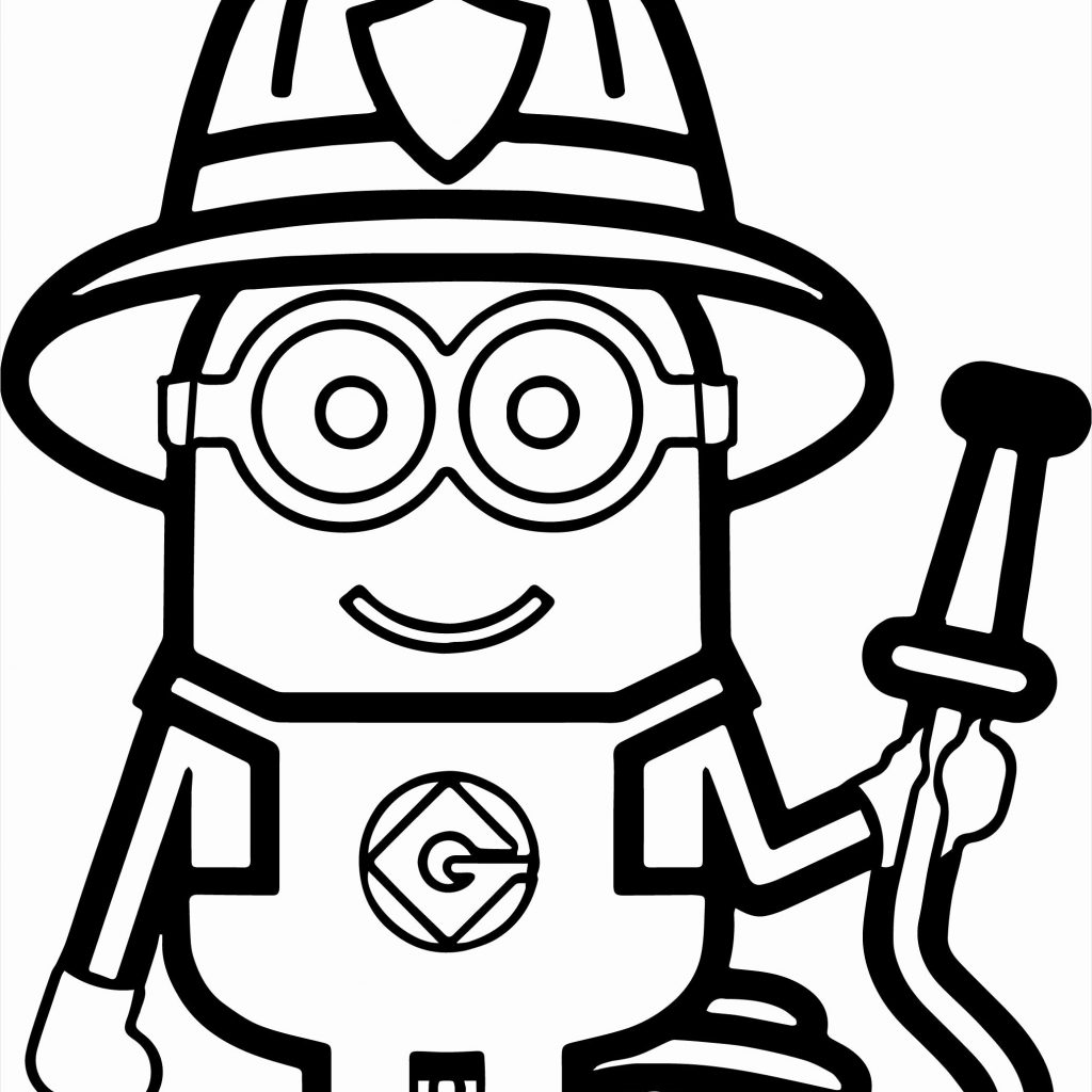Santa Fireman Coloring Page With Perfect Firefighter Pages Clipart Fire Man 9