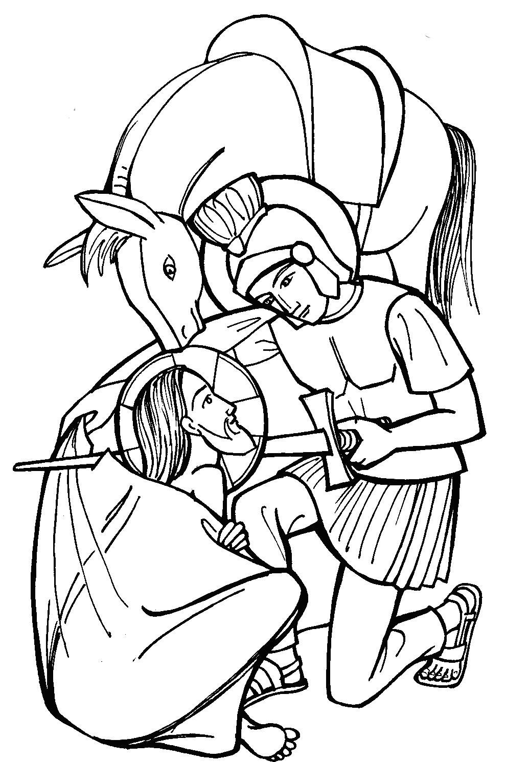 Santa Fireman Coloring Page With St Martin Of Tours Catholic Feast Day Martinmas Is