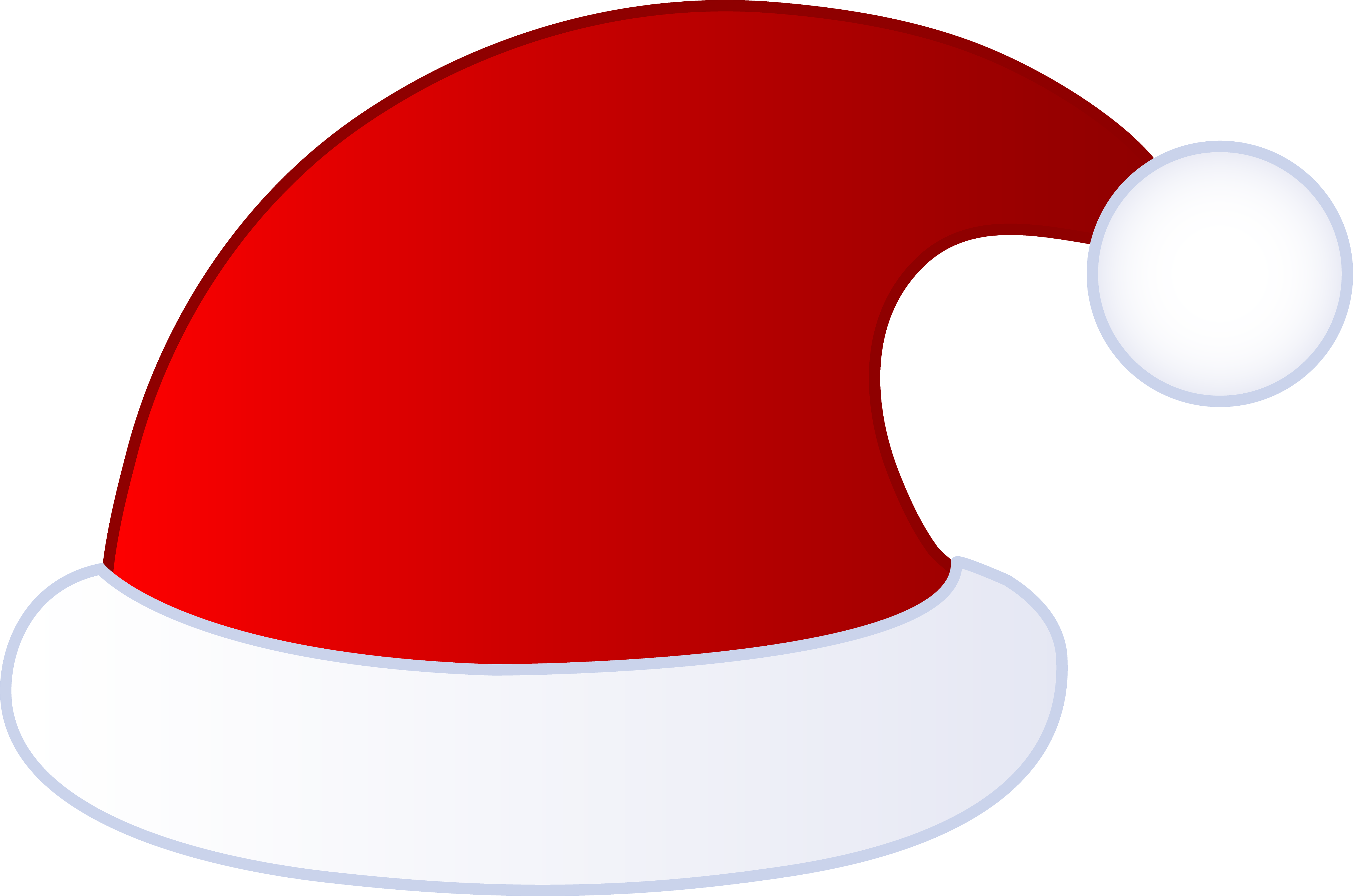 Santa Hat Coloring Picture With Free On Download Clip Art