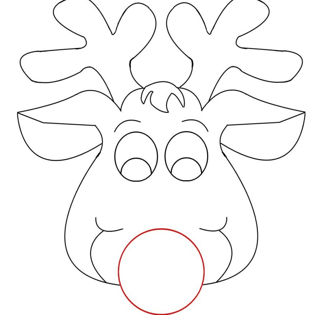 Santa Head Coloring With Pin By Wendy DeRose On Christmas Pinterest