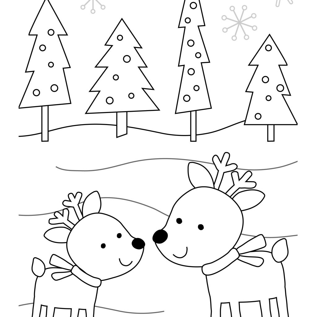 Santa Letter Coloring Sheet With Adorable Holiday Pages Letters To Printables The