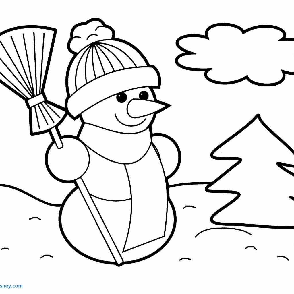 Santa Mickey Coloring Pages With Christmas Cards New Disney Mouse As