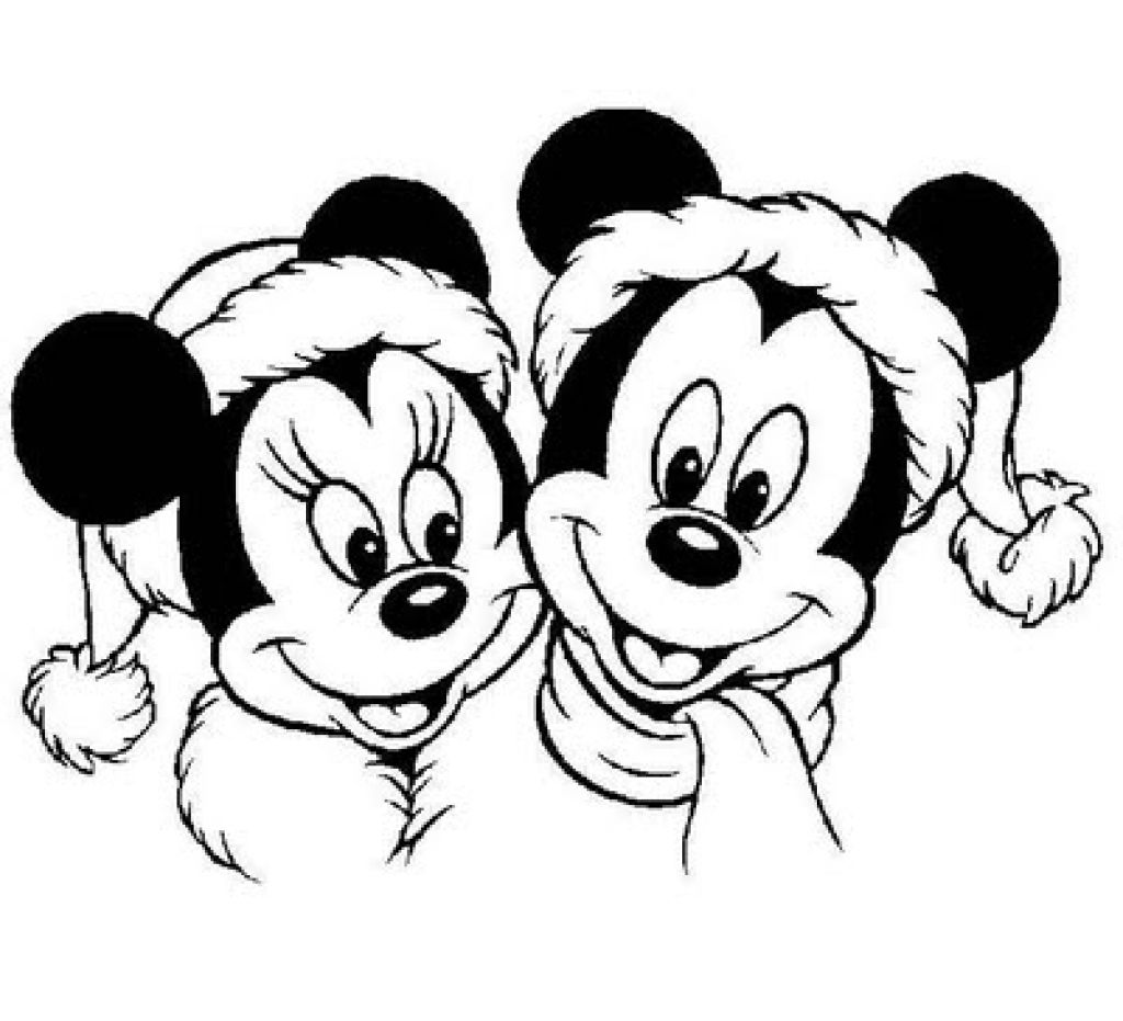 Santa Mickey Coloring Pages With Pin By Barbara Brantley On Pinterest Christmas