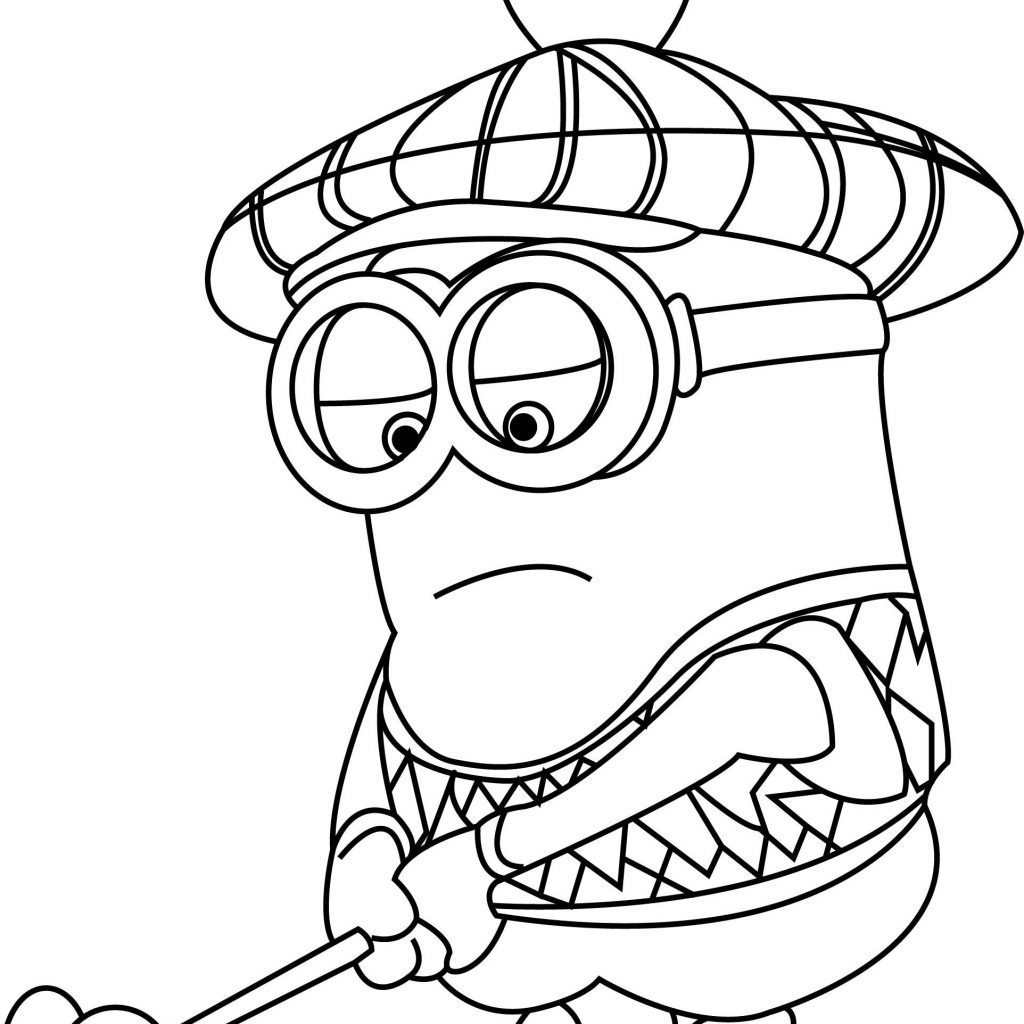 Santa Minion Coloring Pages With Brilliant Ideas Of Fancy Pictures To Colour 10 Angry Captain