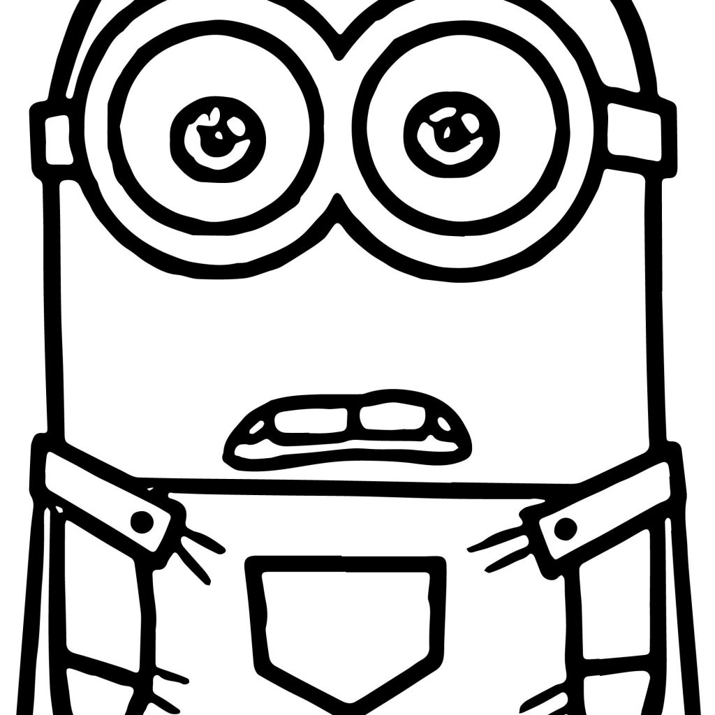 Santa Minion Coloring Pages With Minions Wecoloringpage Pinterest