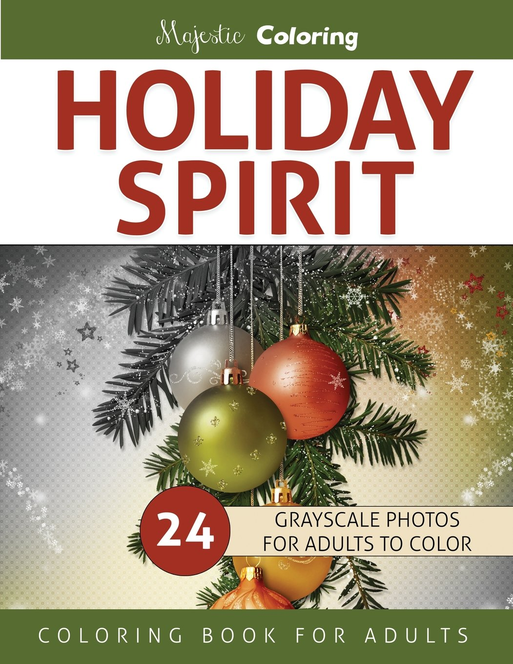 Santa S Christmas Grayscale Coloring Book With Amazon Com Holiday Spirit For Adults