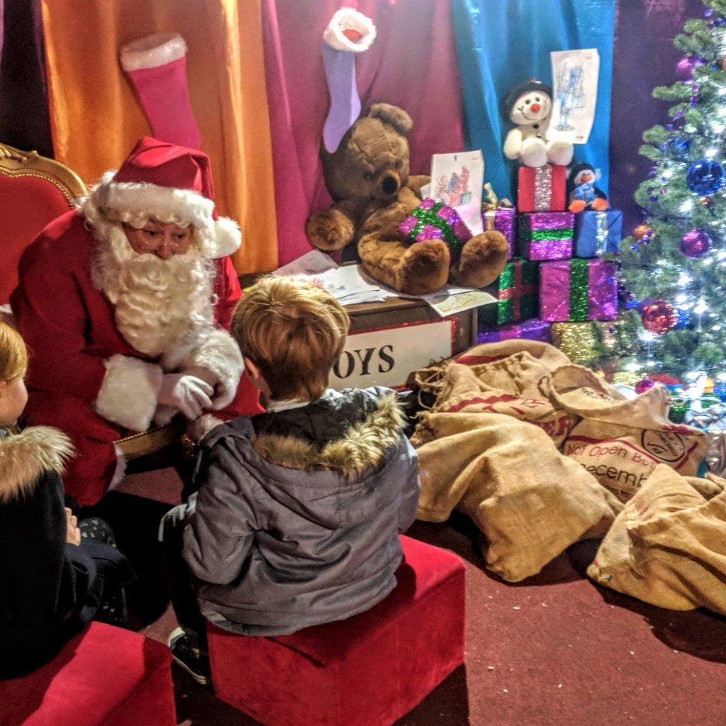 Santa S Grotto Colouring Pages With Visiting The FREE Claus And Festive Fun At Intu Metrocentre