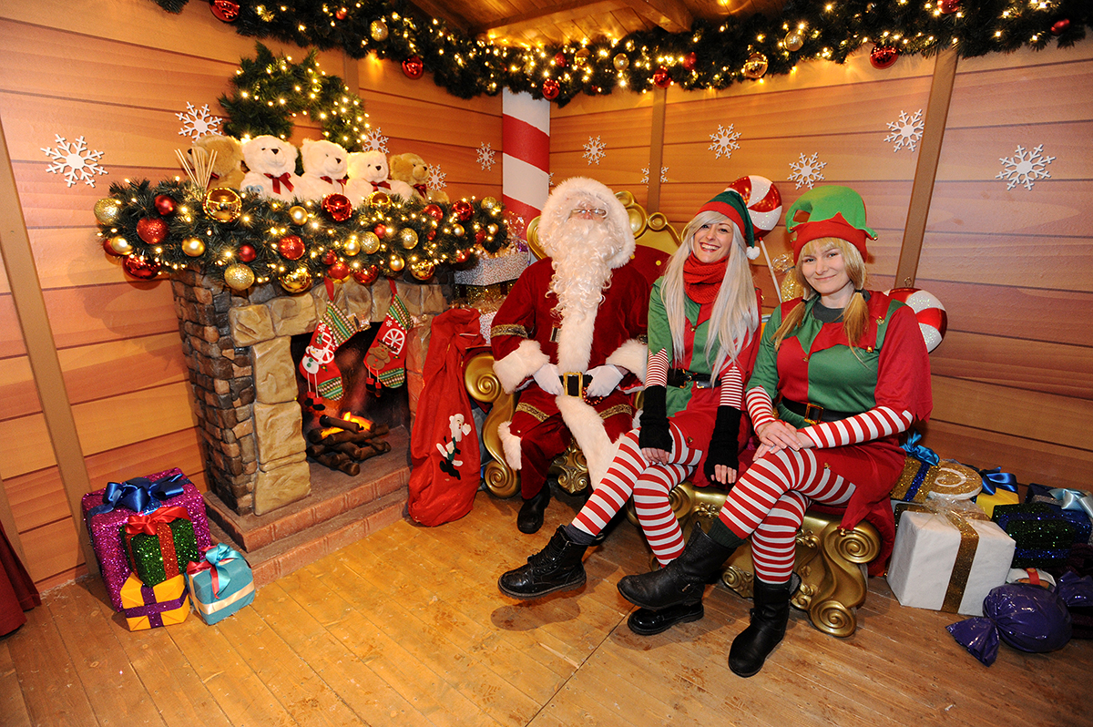Santa S Grotto Colouring With Bolton Winter Festival 2018 Albert Halls