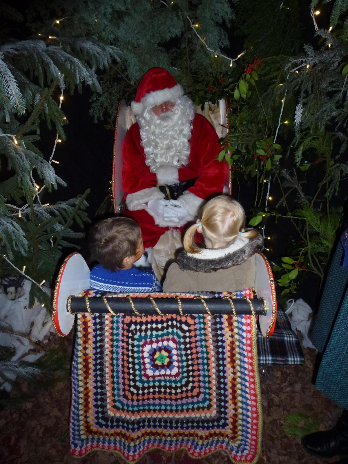 Santa S Grotto Colouring With Is Through The Wardrobe In Narnia At Penshurst Place News