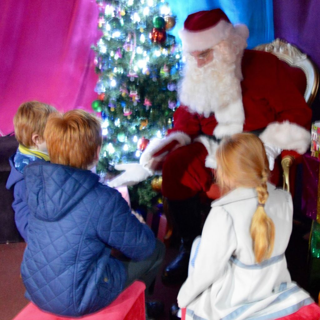 Santa S Grotto Colouring With Visiting The FREE At Intu Metrocentre All You Need