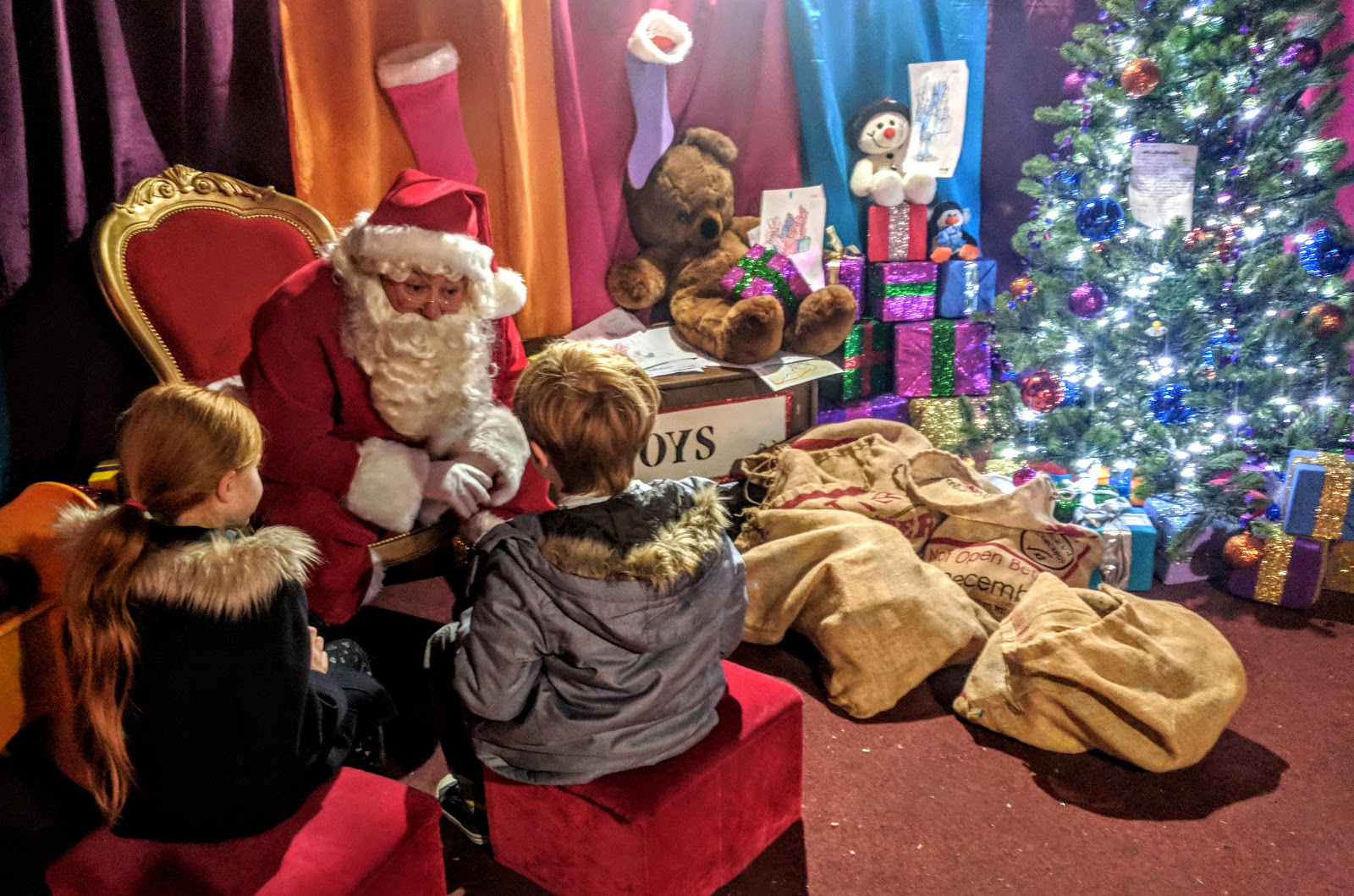 Santa S Grotto Colouring With Visiting The FREE Claus And Festive Fun At Intu Metrocentre