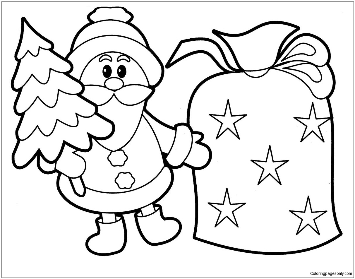 Santa S Helpers Coloring Pages With Luxury Rudolph Claus And Hermey