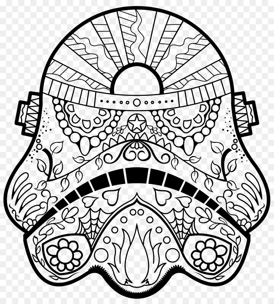 Santa Skull Coloring Pages With Calavera Day Of The Dead Book Death For