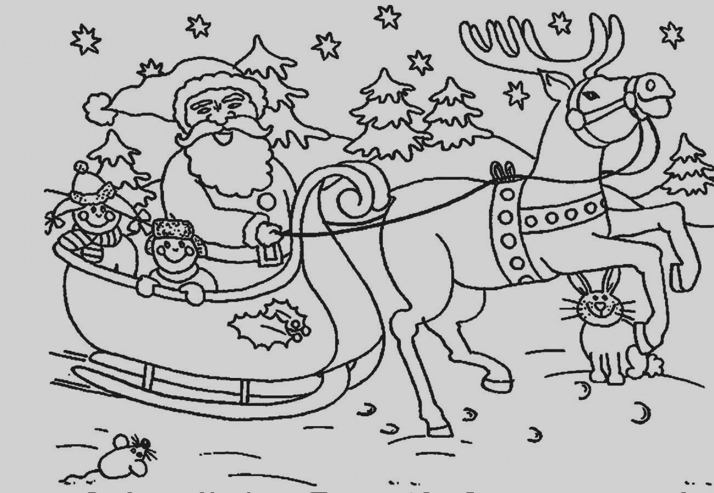 Santa Suit Coloring Page Getcoloringpages With Funny Christmas Pages GetColoringPages Org