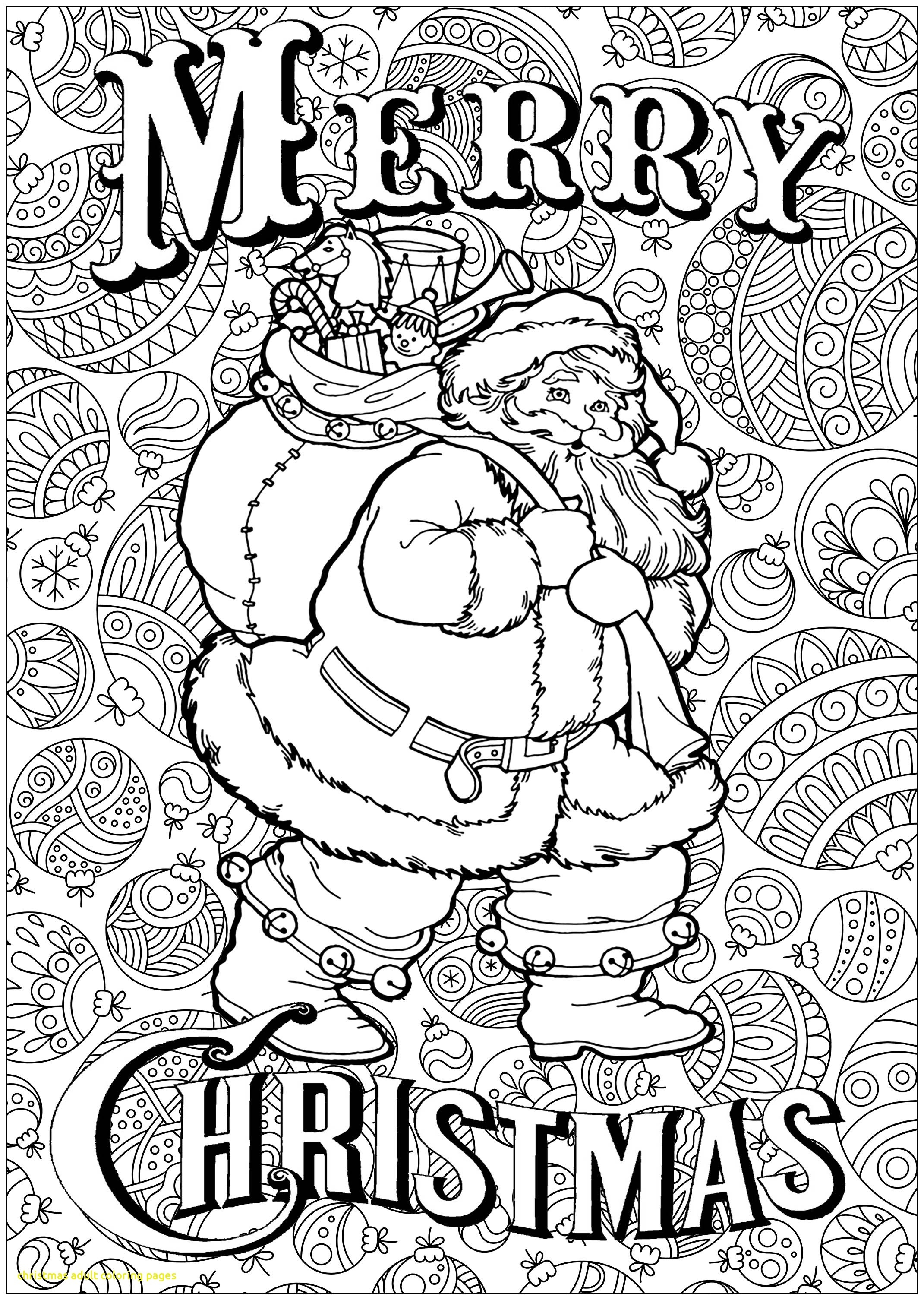 Santa Suit Coloring Page With Pages For Adults Free Books