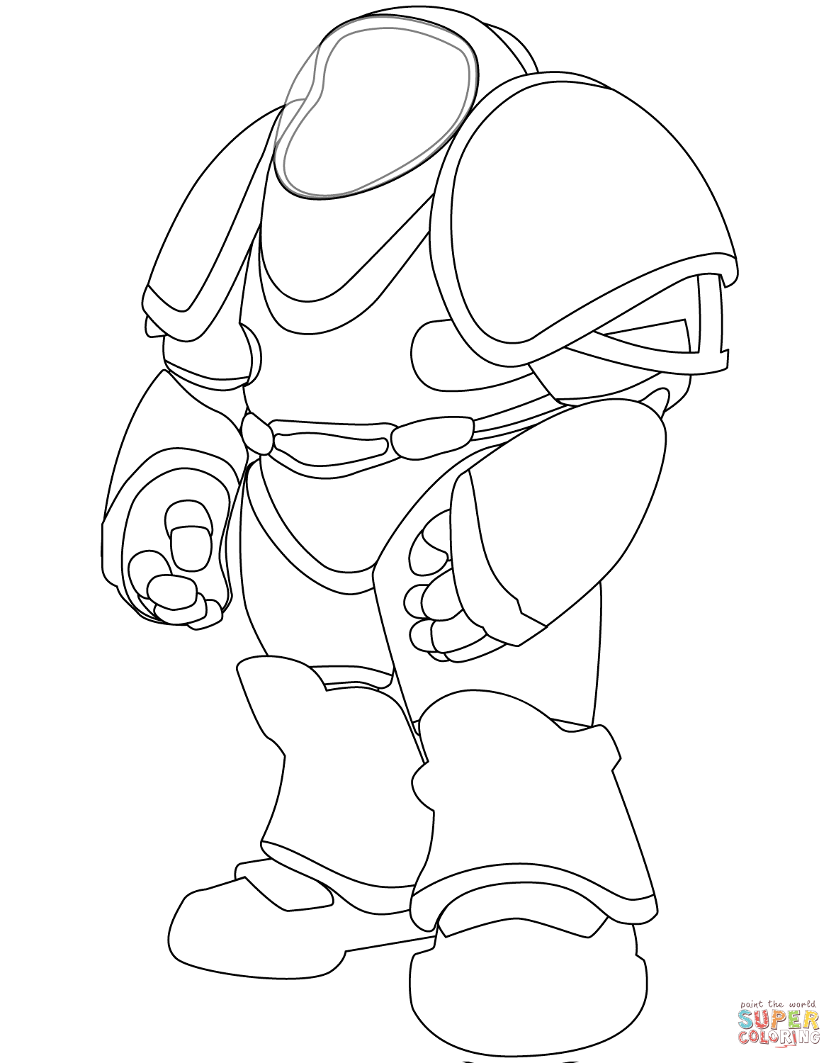 Santa Suit Coloring Page With Space Free Printable Pages