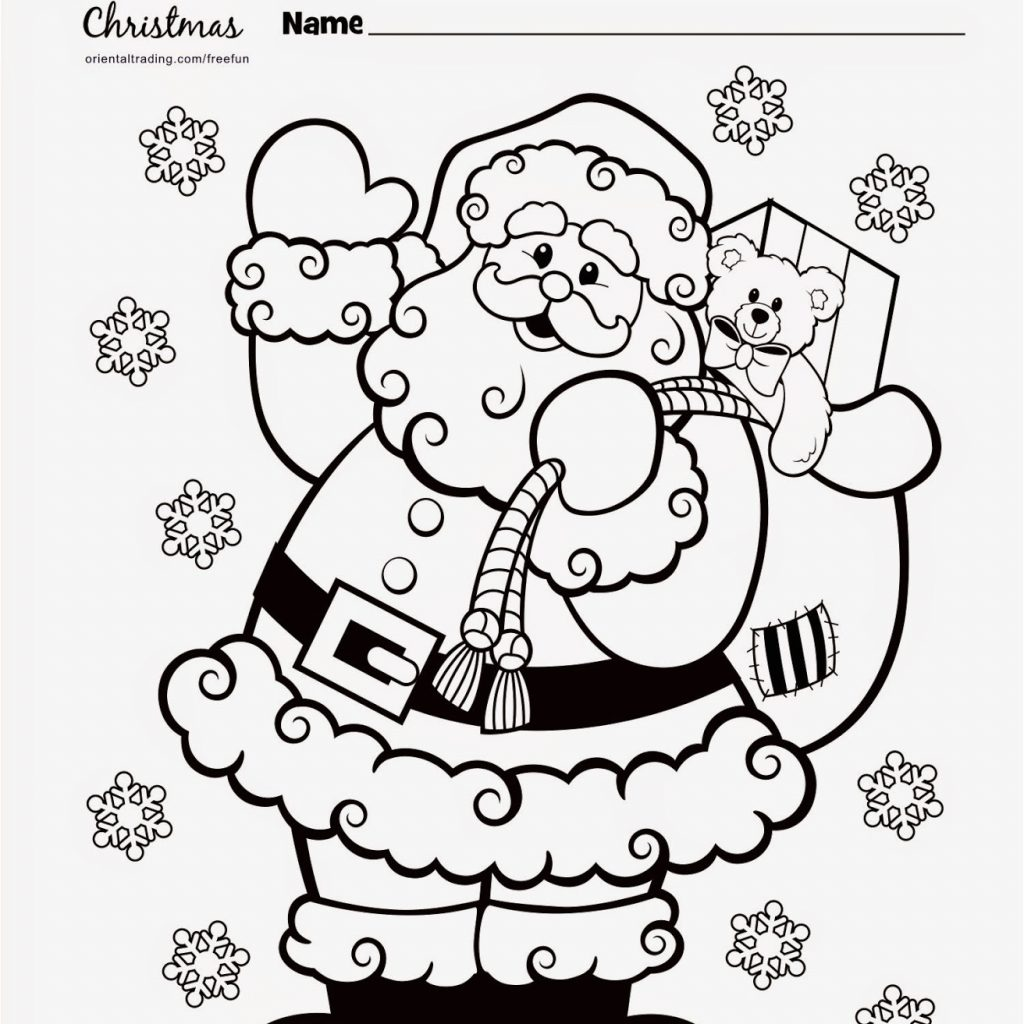 Santa Surfing Coloring Page With Image Of Free Printable Pages Xmas Christmas