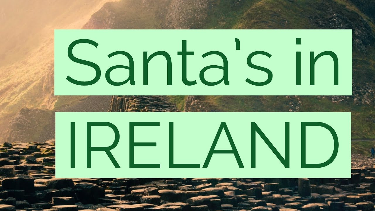 Santa Tracker Coloring With 2017 Ireland 8 33 P M YouTube