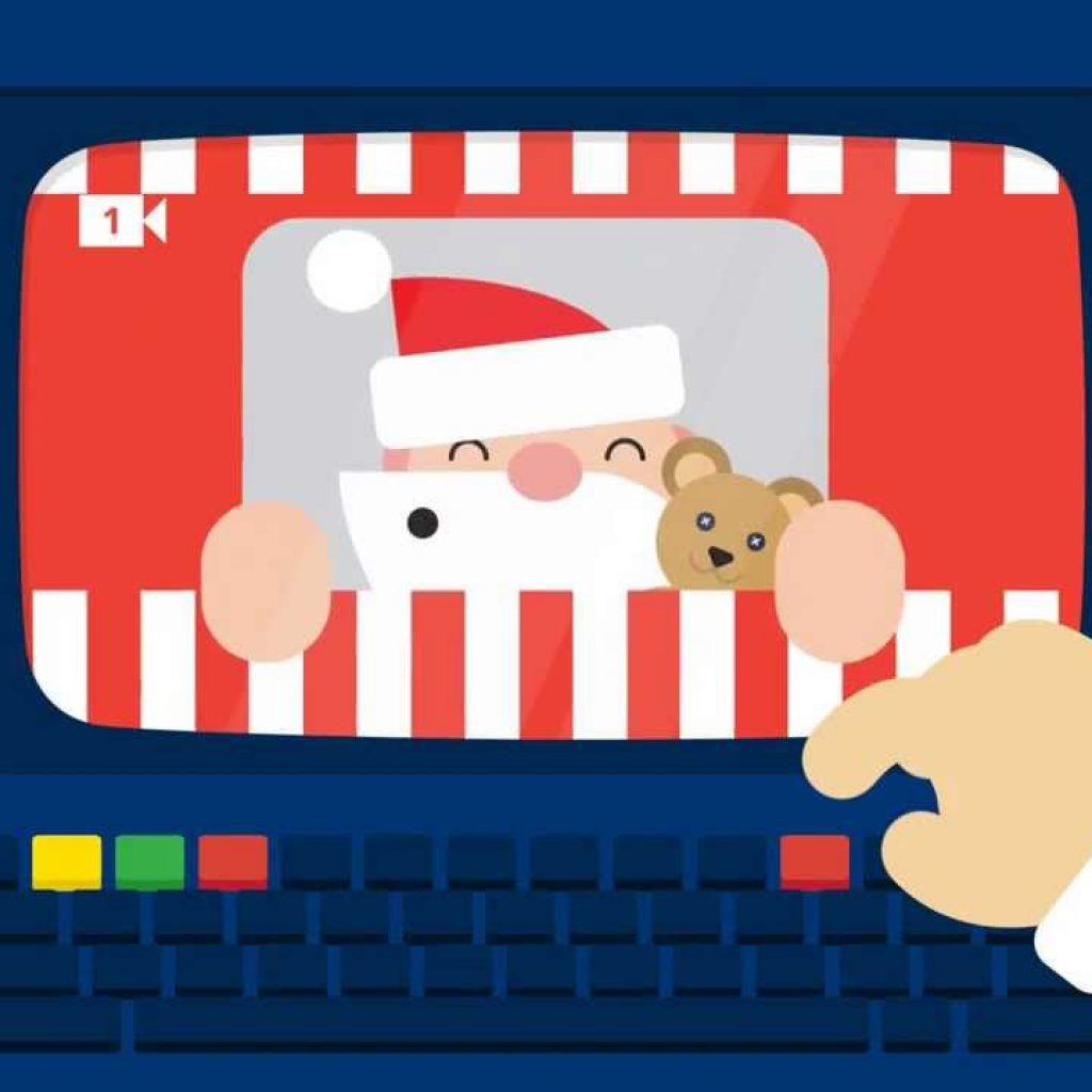 Santa Tracker Coloring With All Days Of The Google For 2016