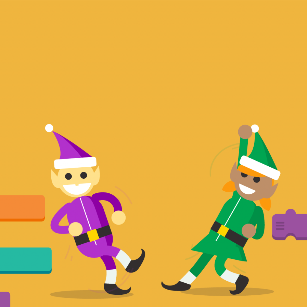 Santa Tracker Coloring With Code Boogie Google
