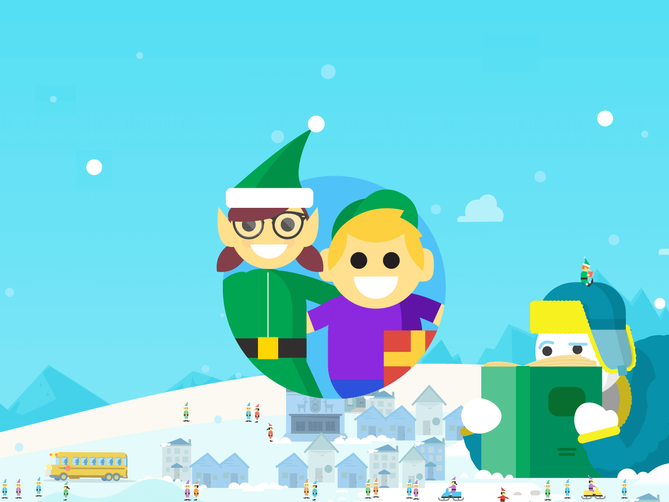 Santa Tracker Coloring With For Educators Google