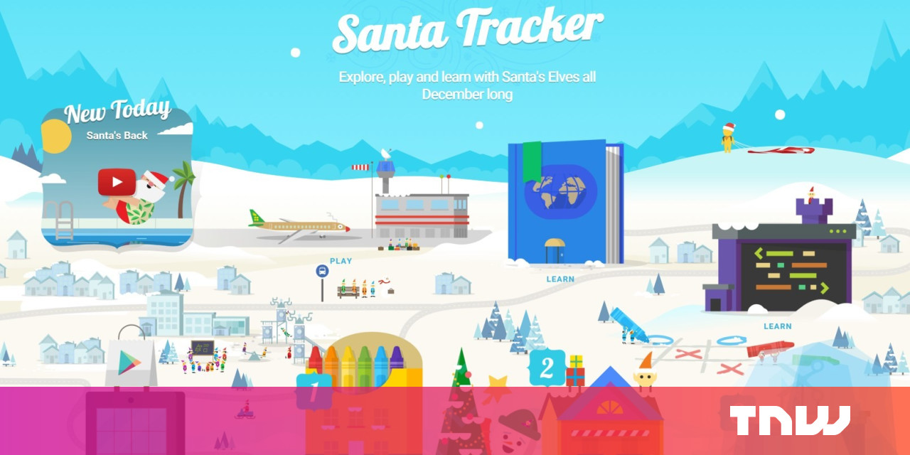 Santa Tracker Coloring With Google Brings Fun New Activities To Its