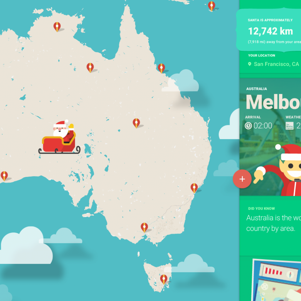 Santa Tracker Coloring With Web Press Scene Html At Master Google