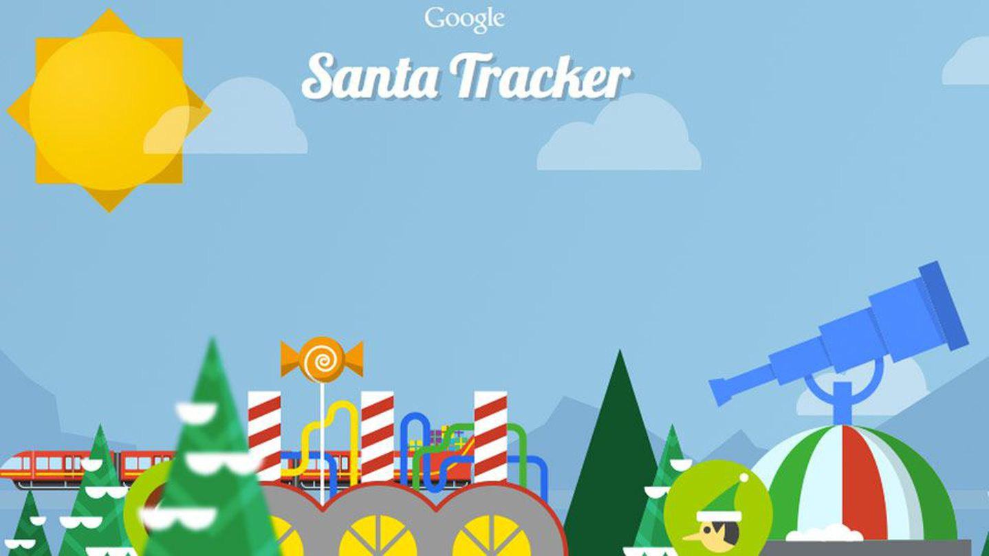 Santa Tracker Coloring With