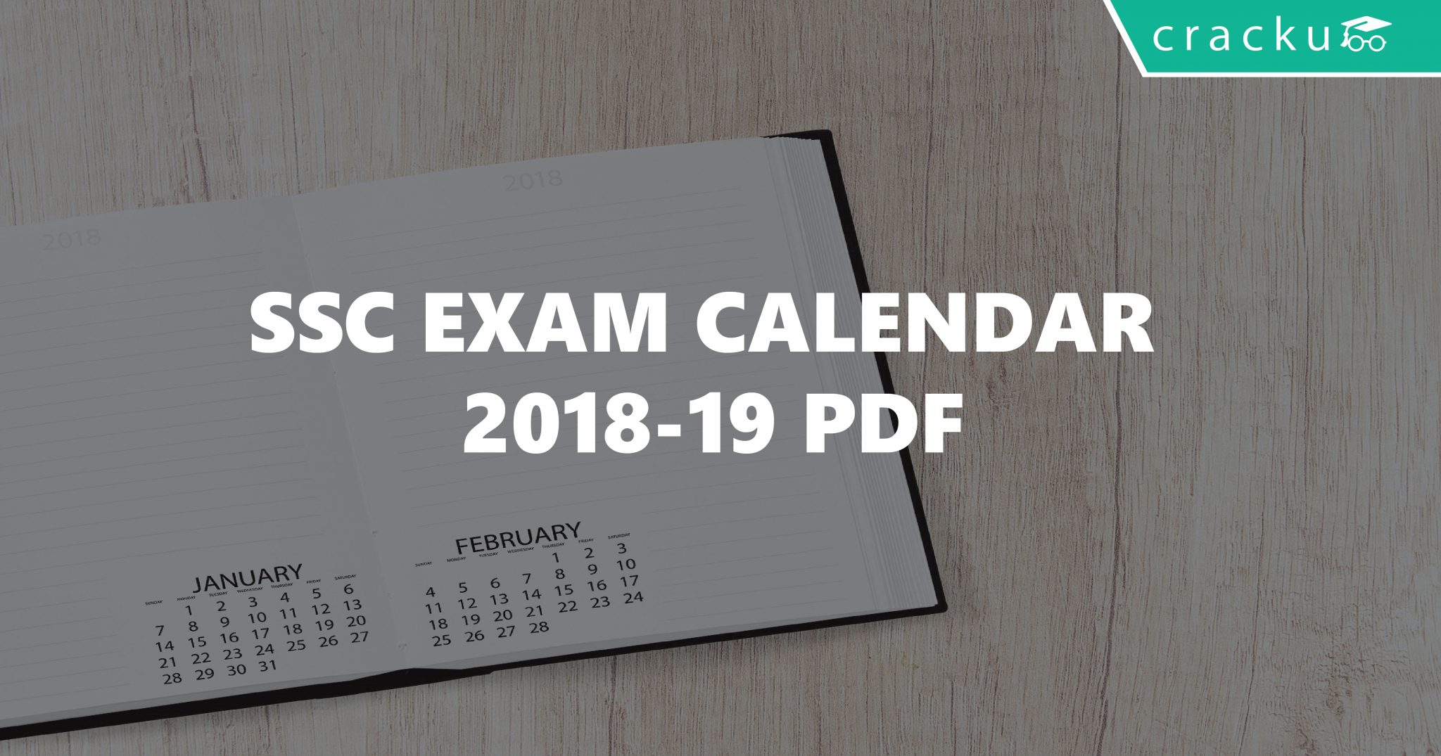 Ssc Year Calendar 2019 With SSC Exam 2018 19 Pdf Revised Cracku