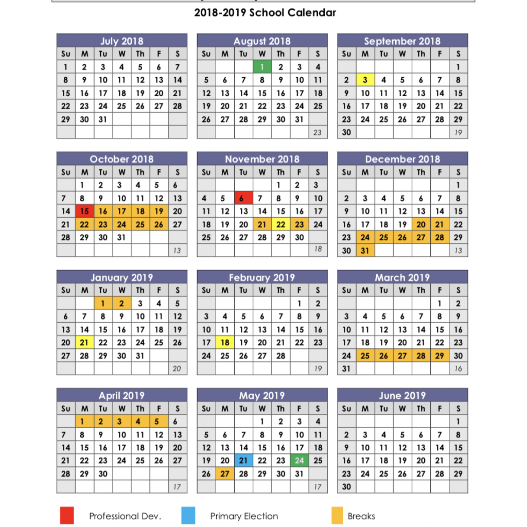 Tamil Year Calendar 2019 With School Calendars 2018