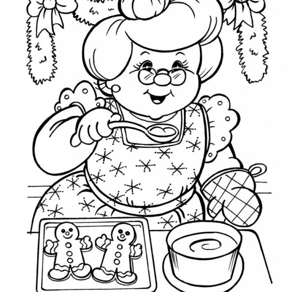 These Fun Christmas Santa Claus Coloring Pages With Mrs Worksheet Go Back Print This