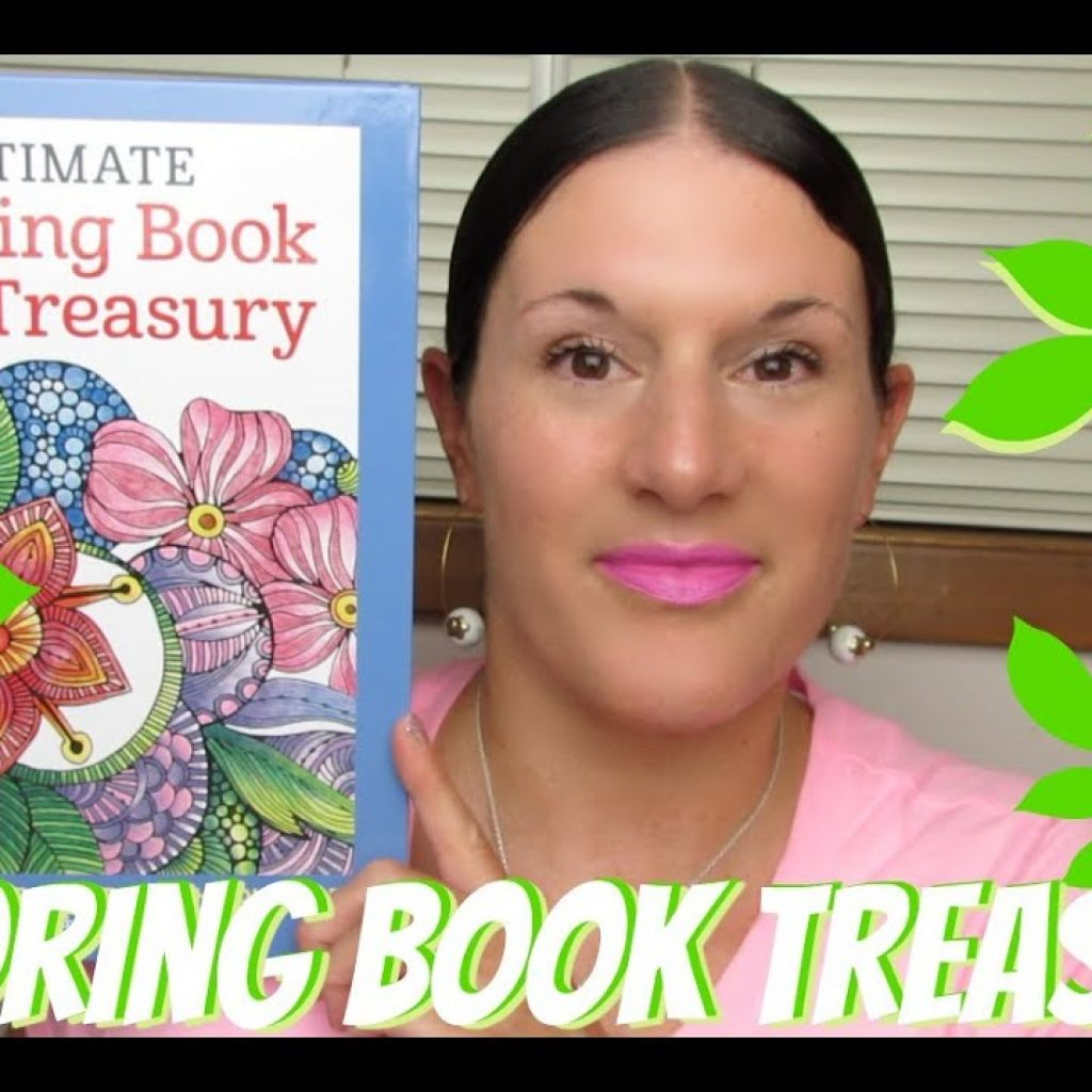 Ultimate Christmas Coloring Book Treasury With ADULT COLORING BOOKS YouTube