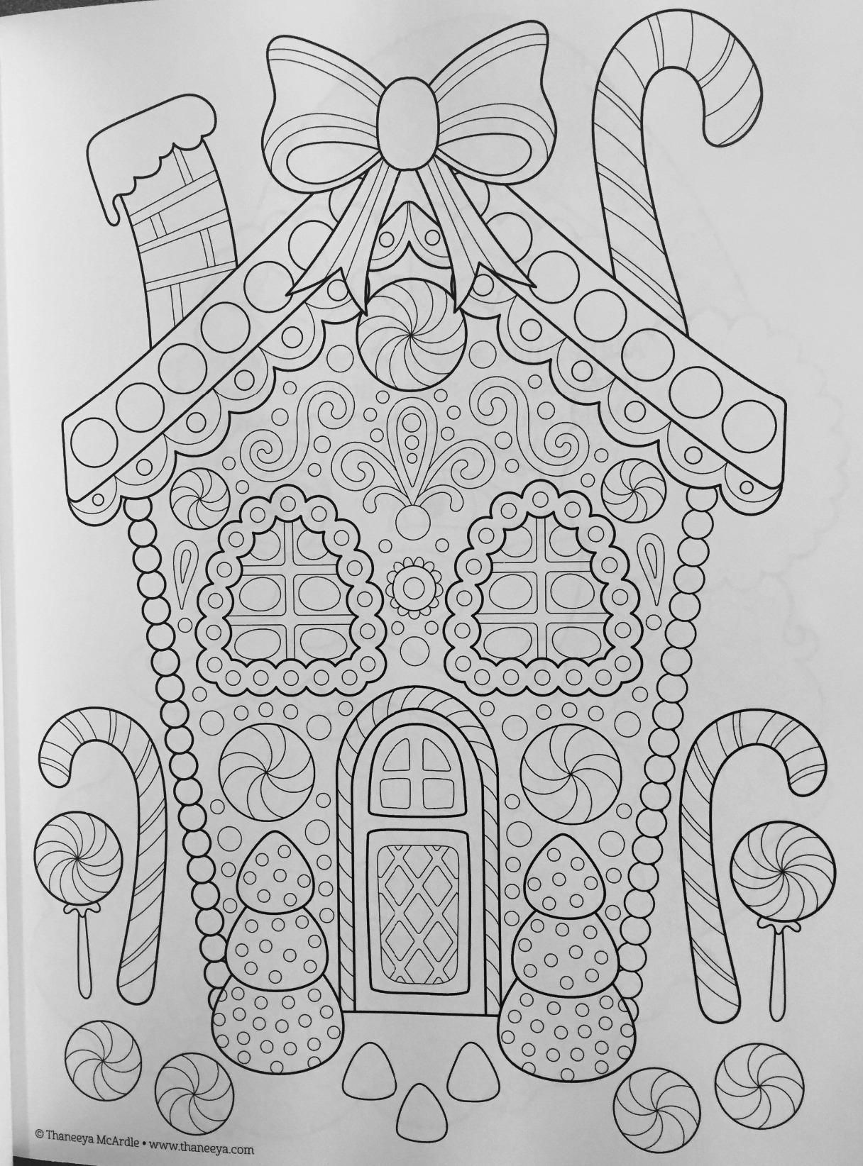 Ultimate Christmas Coloring Book Treasury With Is Fun Thaneeya McArdle