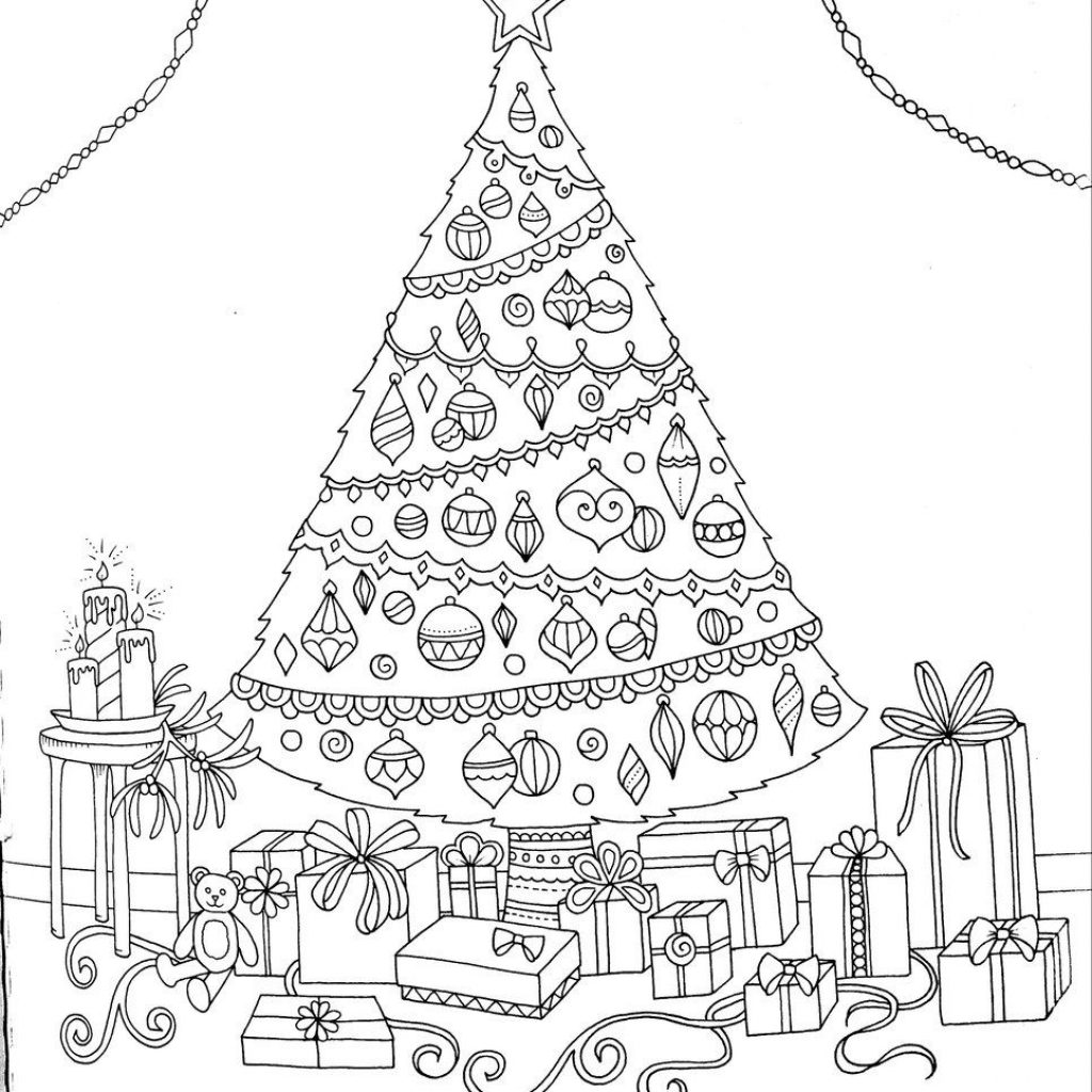 Ultimate Christmas Coloring Book Treasury With Malen Zen Pinterest