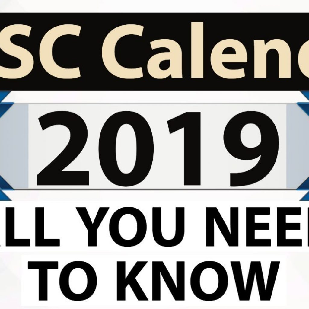 Upsc Year Calendar 2019 With UPSC Find Out Exam Dates Of All Important Exams In