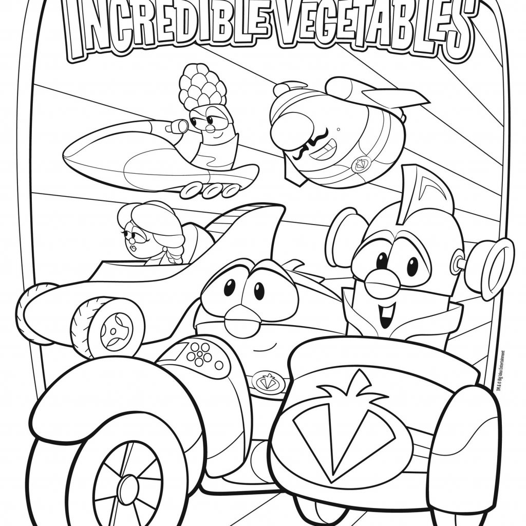 Veggie Tales Christmas Coloring Pages With Free VeggieTales Page Gracie S Favorite Movie Right Now