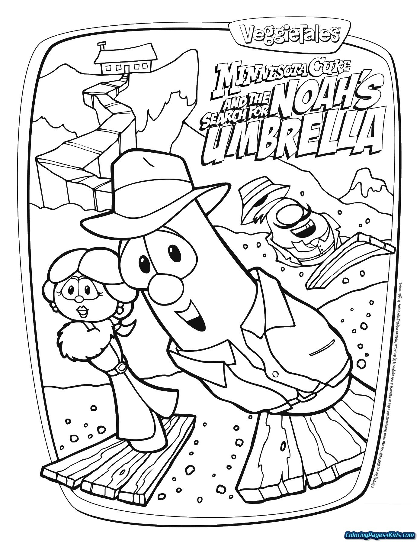Veggie Tales Christmas Coloring Pages With Sheets New