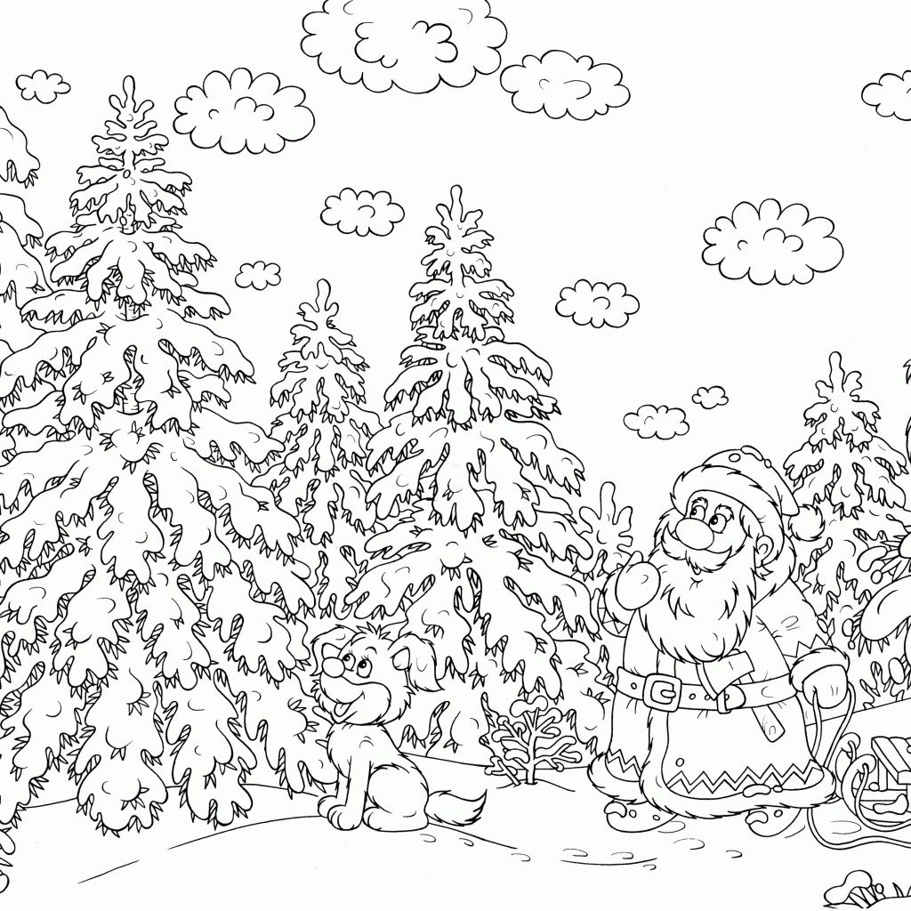 Very Hard Christmas Coloring Pages With Save Awesome