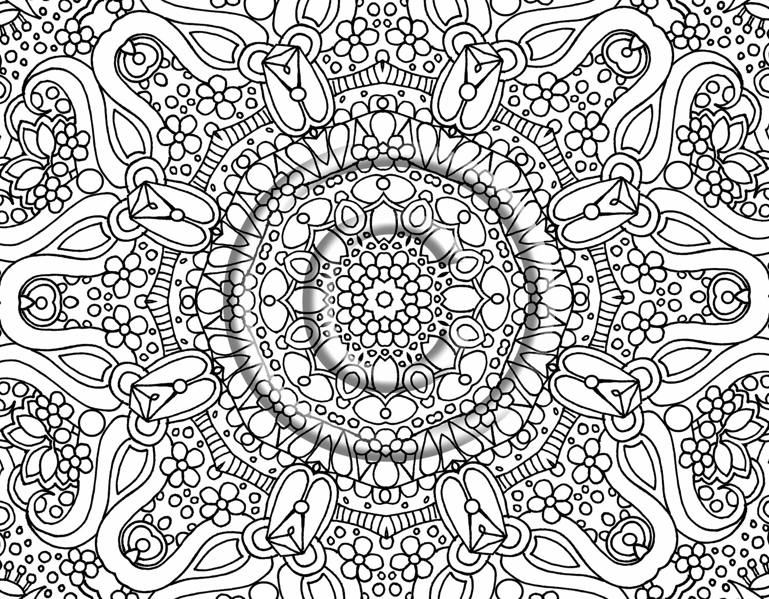 Very Hard Christmas Coloring Pages With Ultimate Difficult Montenegroplaze Me 2424 8