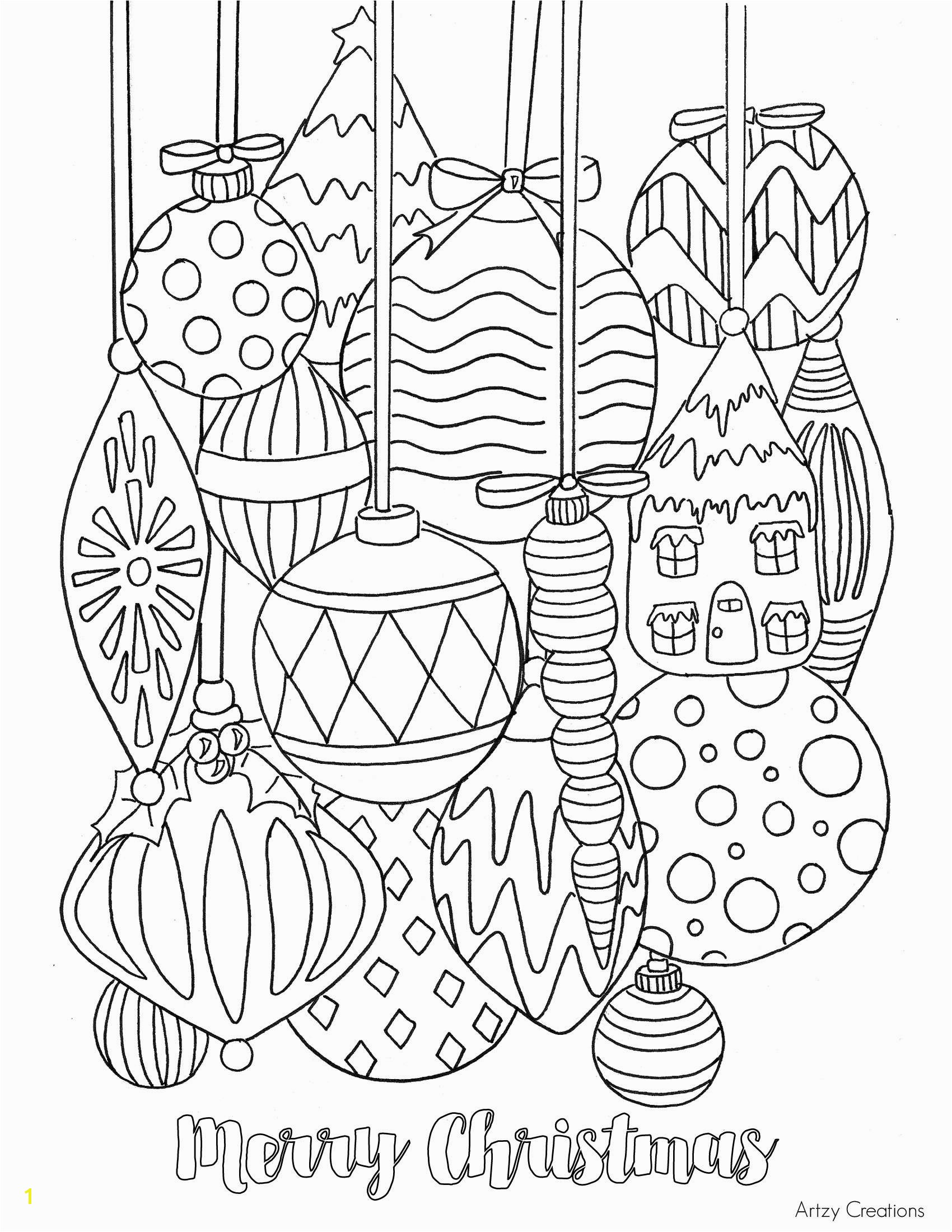Very Hard Christmas Coloring Pages With Zabelyesayan Com